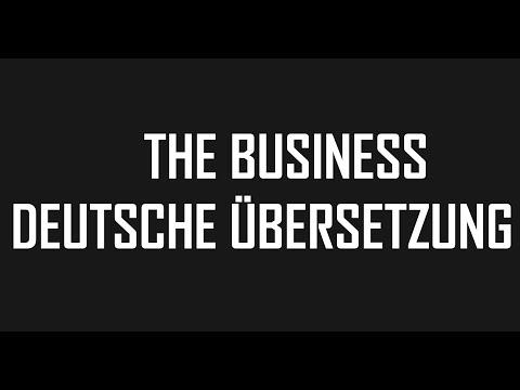 Tiësto - The Business | Deutsche Übersetzung | MeanTuber | 4K
