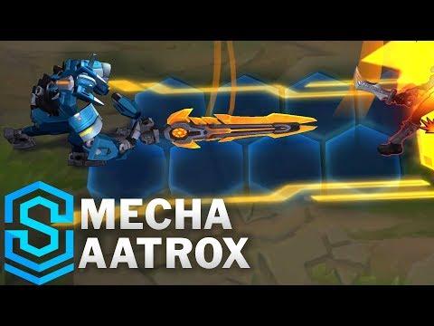Mecha Aatrox Skin Spotlight - League of Legends