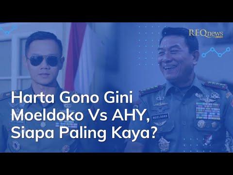 Harta Gono Gini Moeldoko Vs AHY, Siapa Paling Kaya?