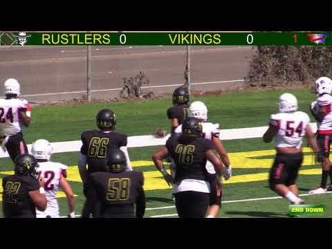 Golden West Rustlers Football vs Long Beach City College