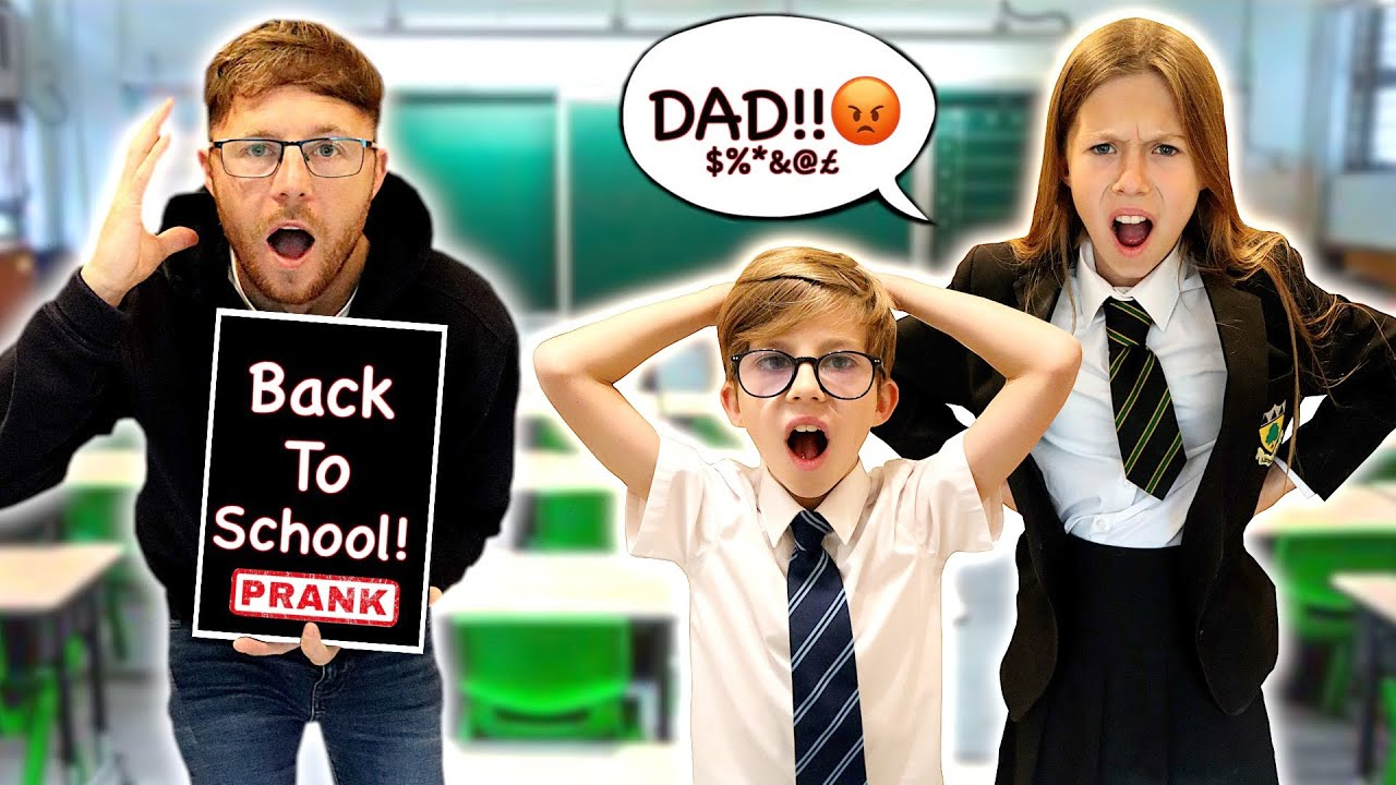 BACK TO SCHOOL PRANK ON THE KIDS! *FUMING 😡