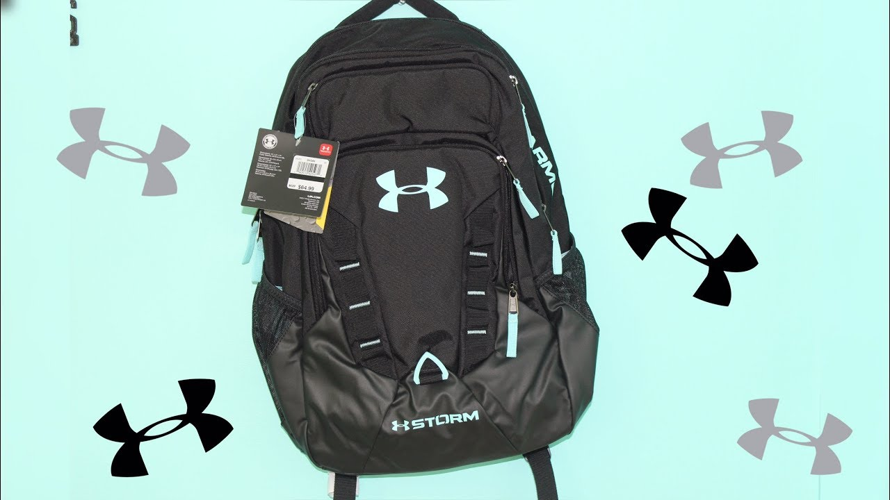 Under Armour Storm Recruit backpack - YouTube 35adbd6c8ab42