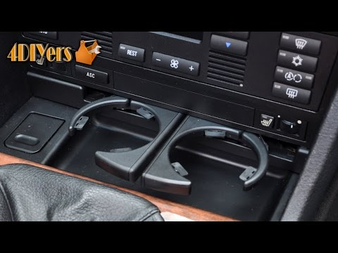 DIY: BMW E39 Front Cup Holder Replacement