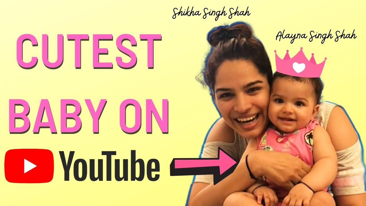 Cutest Baby On YouTube | Shikha Singh Shah Vlogs | 4Wheeler Scooter
