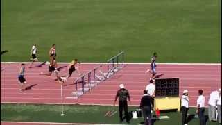 110 Meters Hurdles Turkey Super Leuge In İzmir 2012 -23 May