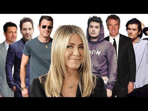 Jennifer Aniston's ex husbands and ex boyfriends