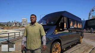 GTA 5 - Ford Transit 16 chỗ độ màu Chrome chở khách lên núi đem bán lấy tiền | ND Gaming