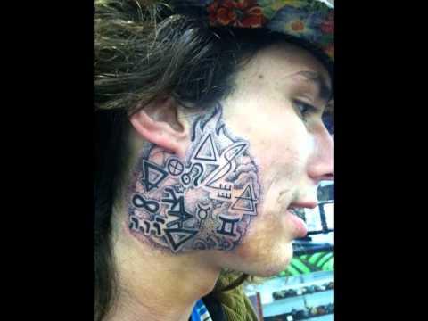 Kai the hitchhiker tattoo