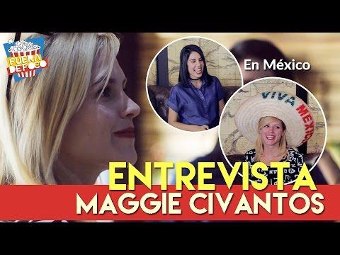 MAGGIE CIVANTOS (Vis a Vis) en MÉXICO - ENTREVISTA Exclusiva -