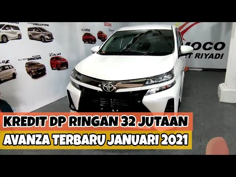Kredit DP Ringan 32 Juta - Promo Toyota Avanza Terbaru Januari 2021 - OTR Jawa Barat