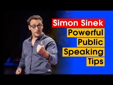 Simon Sinek 7 Powerful Public Speaking Tips To Hook Any Audience.