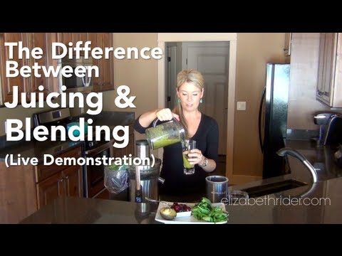 The Difference Between Juicing & Blending Smoothies