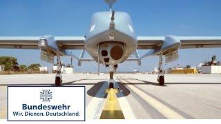 """Lautlose Aufklärung aus der Luft für die Bundeswehr: Ausbildung an der """"Heron 1"""""""