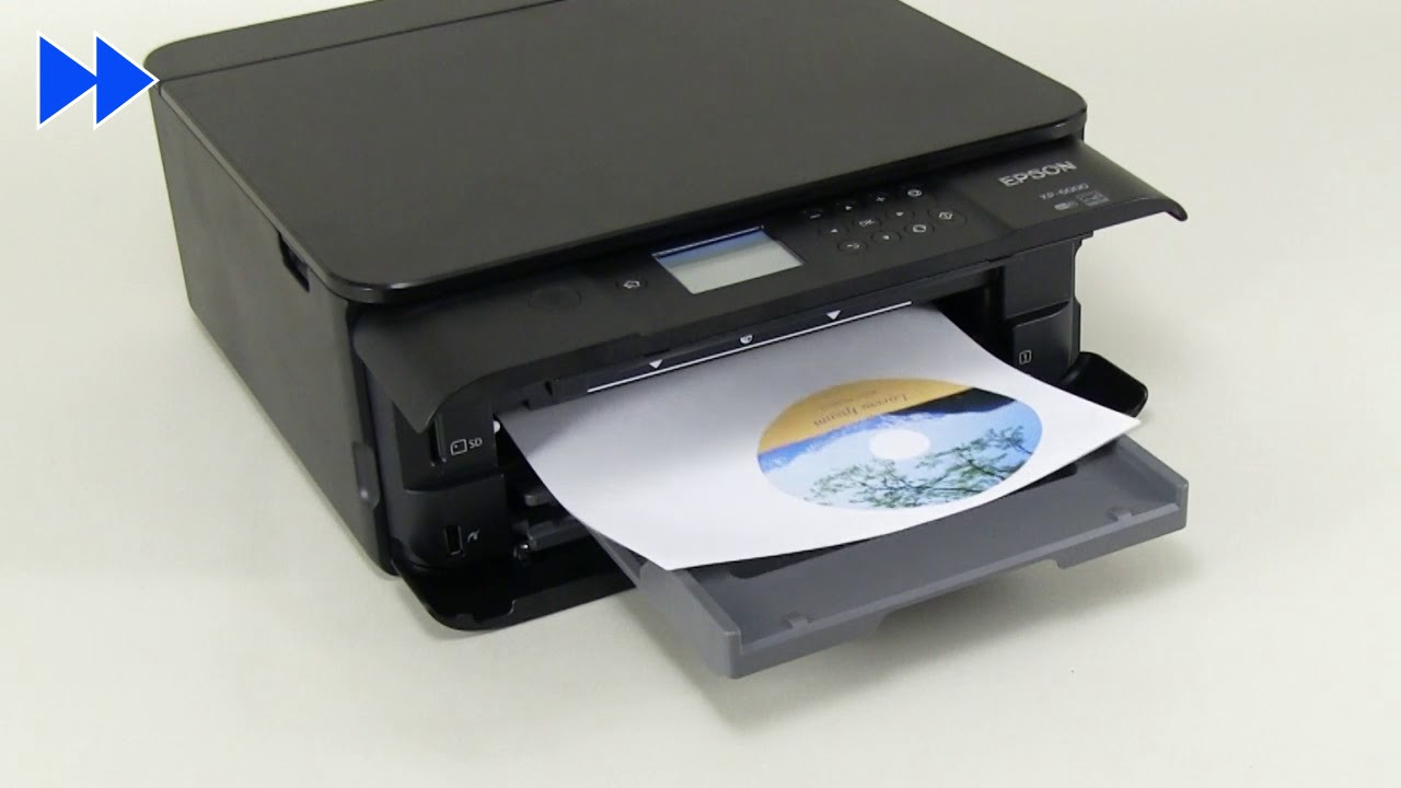 How To Print CD DVD Labels Using PC Epson XP 8500 6100XP 6000 NPD5982