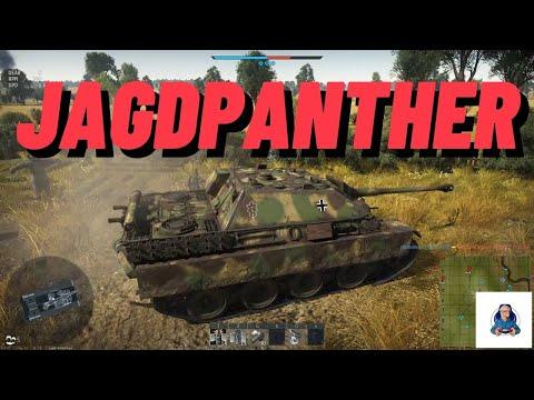 War Thunder JagdPanther On Kursk Map German Tanks  Realistic Battles