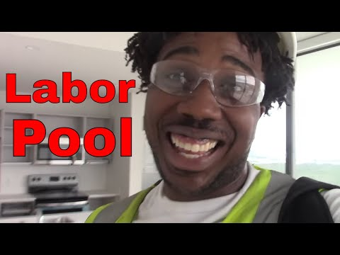 Working at the Labor pool