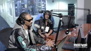 Snoop Dogg Speaks on Suge Knight, NWA Movie & Hillary Clinton with DJ Whoo Kid (Video)