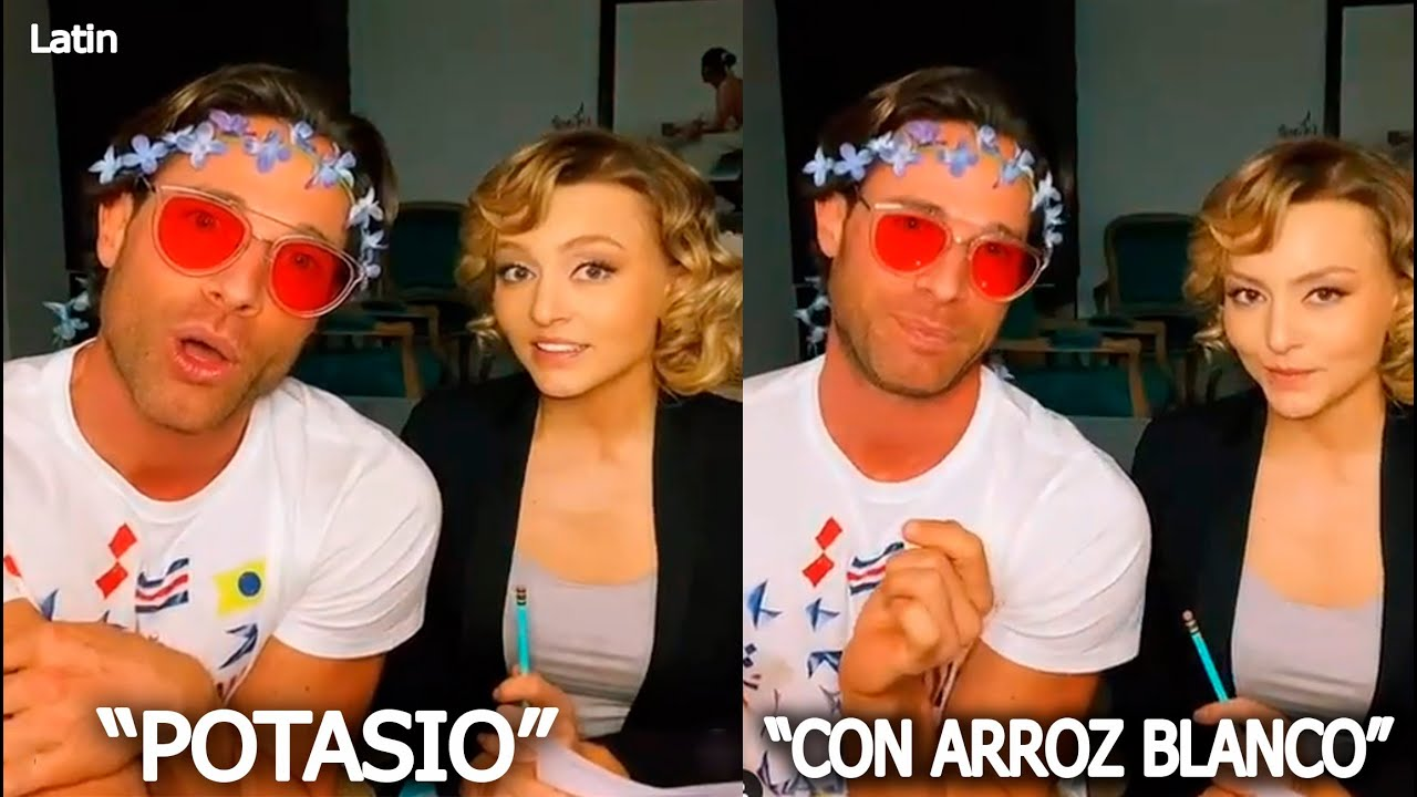 El Divertido Video De Sebastián Rulli Y Angelique Boyer Del Aguacate-Potasio