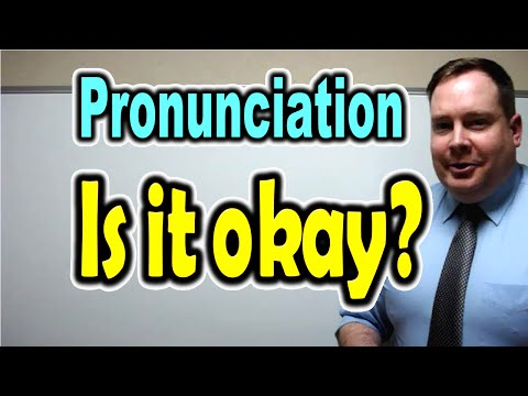 """How to Pronounce """"Is it okay?"""" [ ForB English Lesson ]"""