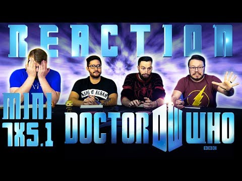 """Doctor Who 7x5.1 REACTION """"P.S."""""""