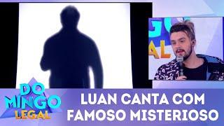 Baixar Luan Santana canta com famoso misterioso   Domingo Legal (17/06/18)