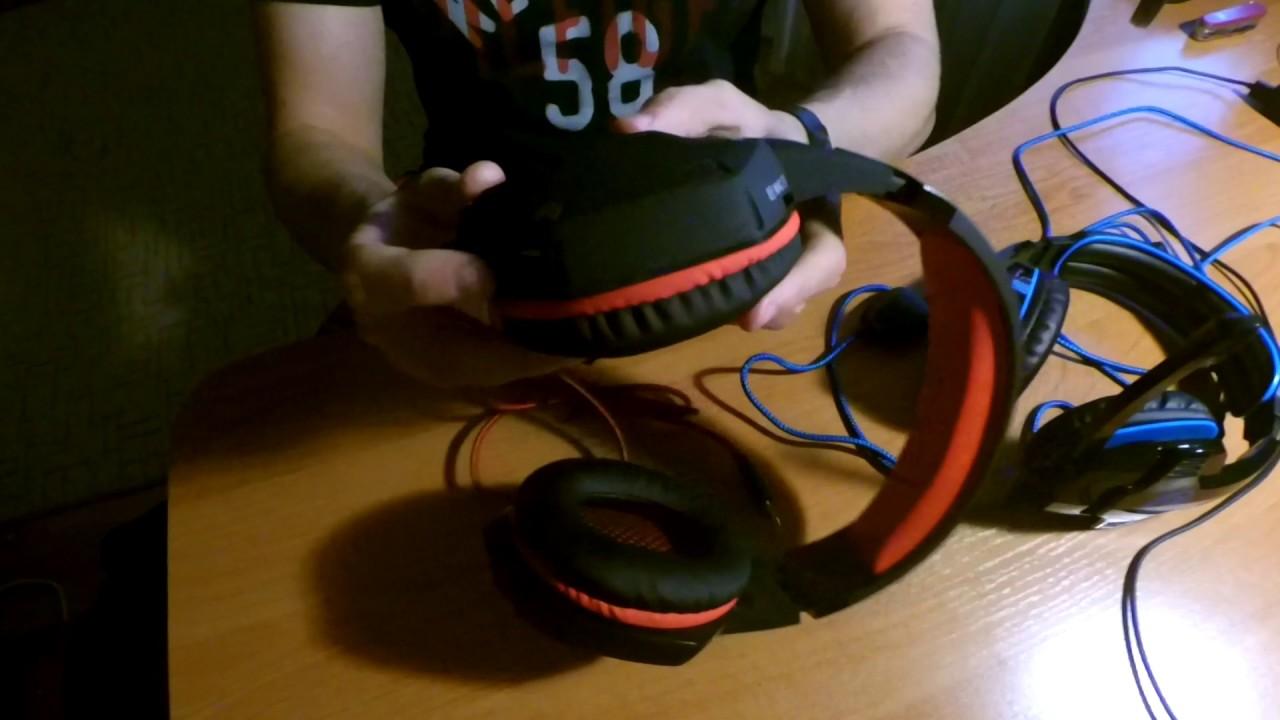 Casque Gamer pour PC, Laptop Sades SA 902 USB Gaming Headset, un .