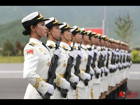 China's female honor guards to appear in parade