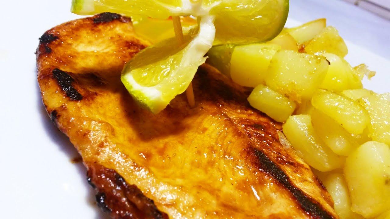 Cocinar filete de pollo a la naranja f cil y sencillo for Como cocinar solomillo de pavo