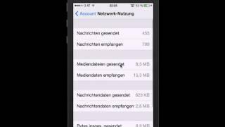 WhatsApp - Nachrichtenstatistiken abrufen