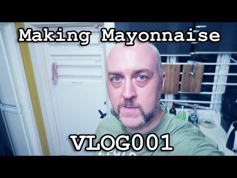 VLOG001 - Making Whole30 Paleo Mayonnaise in 5 Minutes