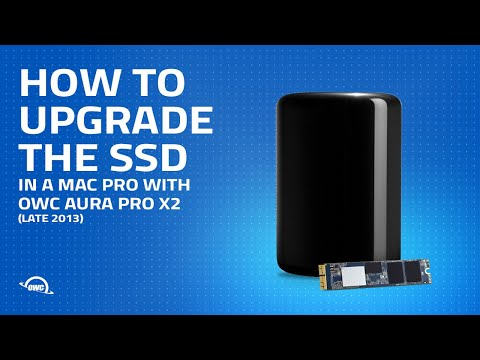 How To Upgrade The SSD In A Late 2013 Mac Pro With The OWC Aura Pro X2