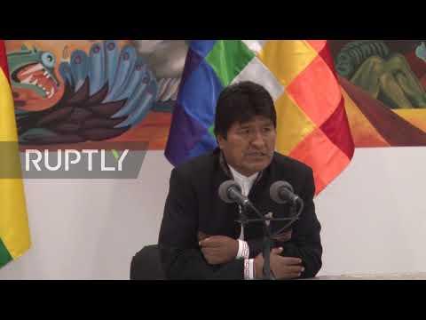 Bolivia: Evo Morales denounces attempted 'coup d'etat' and urges people´s mobilisation