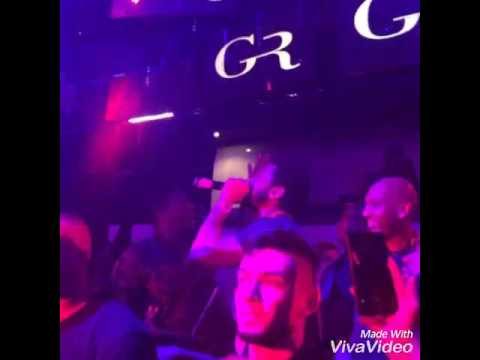 Trey Songz at the gold room pt 2