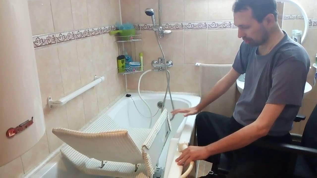 Подъемник для ванной комнаты ванная комната стяжка пола