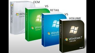 How to Identify OEM,RETAIL,VOLUME Licensed Windows???? Explained in hindi !!!!!!!!!