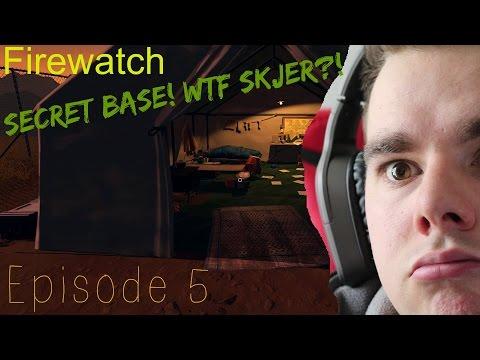 Firewatch - Secret base! WTF skjer?! #5 (5 av 6)   Norsk Gaming