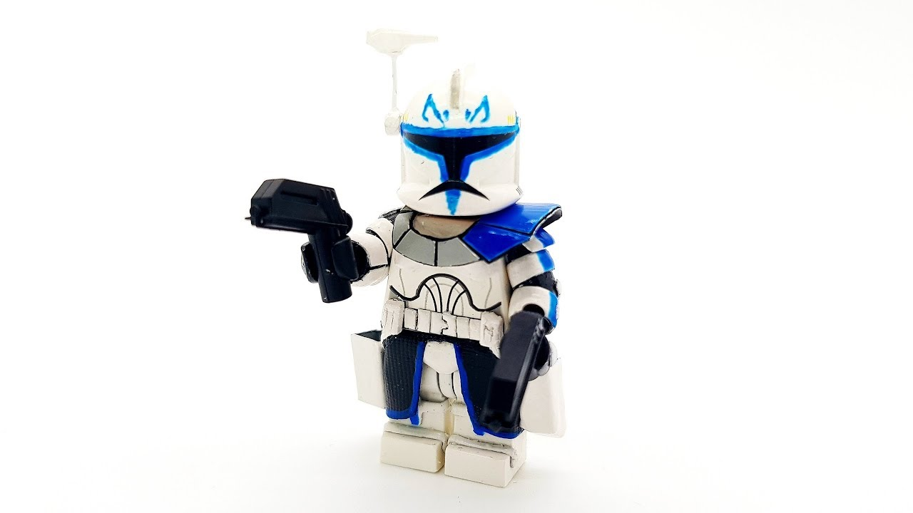 New Captain Rex Phase 1 Custom Lego Star Wars Epic Custom
