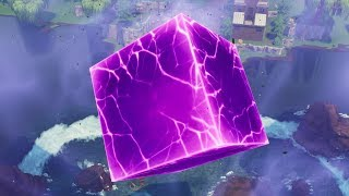 Fortnite cube cracking. At next stage - Starting to Light up?