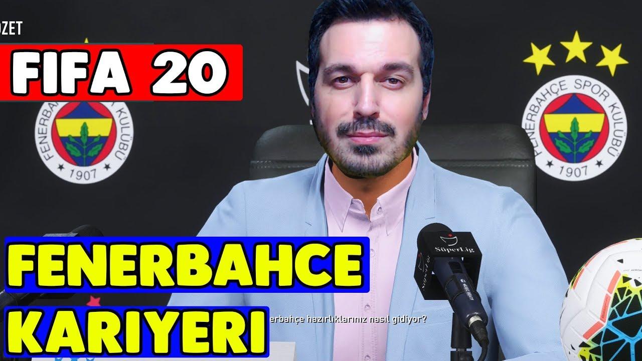 FIFA 20 Fenerbahçe Kariyer Modu #1 Videosu
