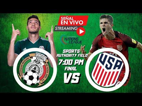 MÉXICO VS ESTADOS UNIDOS | EN VIVO | FINAL LIGA DE LAS NACIONES CONCACAF 2021LIVE