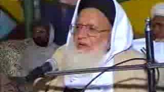 Pashto Islamic speech by Maulana Hasan Jan Shaheed -part- 1 of 3
