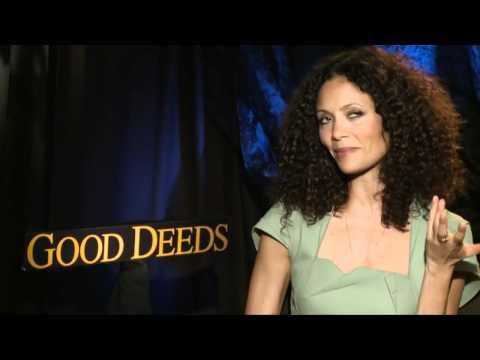 Thandie Newton loves to talk about 'Good Deeds'