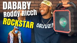 He switched the flow! 😮 DaBaby ft. Roddy Ricch - Rockstar (Official Reaction)