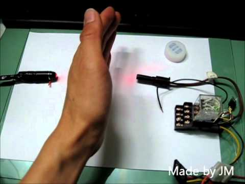 Laser Security System With Circuit Diagram Diy By Kurdish