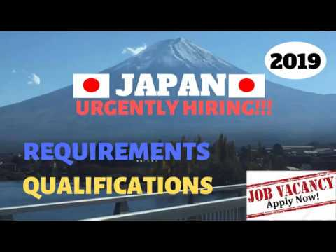 JAPAN JOB OPENINGS FOR FILIPINOS/ MANPOWER AGENCIES ACCREDITED BY POEA/NO PLACEMENT FEE/FEB2019