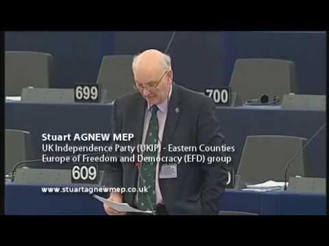 European Parliament is an elected dictatorship - Stuart Agnew MEP