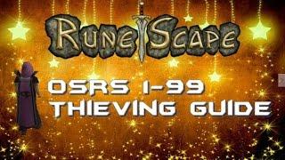 Alternative 1-99 Thieving Guide l Oldschool 2007 Runescape