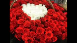 Цветы Омск - корзина роз - доставка цветов Омск т.50-50-94(
