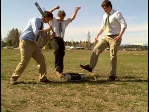 Office Space Smash Scene