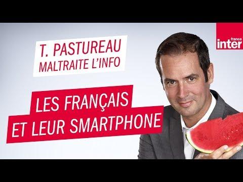 Les Français et leur smartphone - Tanguy Pastureau maltraite l'info